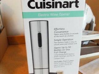 Cuisinart Electric Wine Opener in box