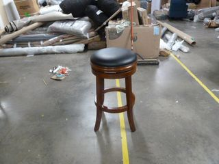 Single Copper Grove Dawley Backless 24 Inch Barstool   Black and Brown