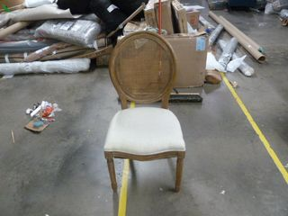 Single Stella Oval Back Dining Chair
