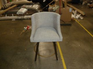 Single 360 Swivel Tufted Dining Chair