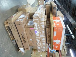 Pallets Of Home Decor  lights  and Bed Frames