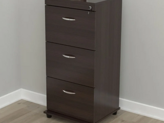 Porch and Den Fremont 3 Drawer Cappuccino Wood File Cabinet