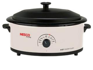 Nesco 6 Qt  Roaster Oven   Finish  IVORY