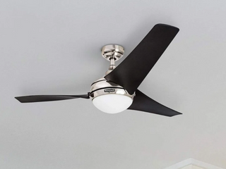 Honeywell 52  Rio Brushed Nickel 3 Blade Ceiling Fan   Remote Included