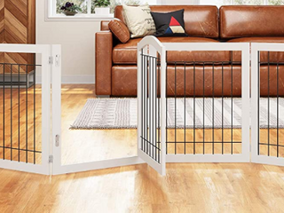 PAWlAND 144  Extra Wide  30  Tall  Dog Gate