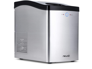 NewAir Countertop Nugget Ice Maker in Stainless Steel