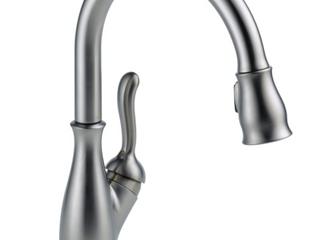 Delta leland Single Handle Pull Down Kitchen Faucet