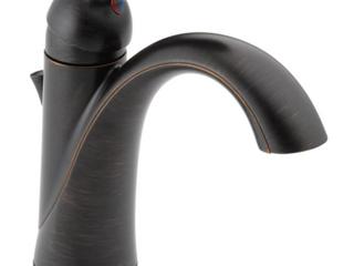 Delta lahara Centerset Single Hole Bathroom Faucet   VENETIAN BRONZE