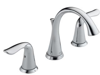 Delta lahara Widespread Bathroom Faucet w  Drain