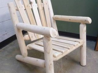 Solid Wood log Chair