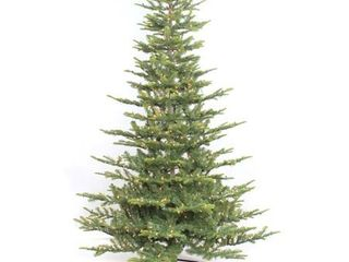 Puleo International 7 5  Pre lit Aspen Green Fir Tree  Retail 285 99