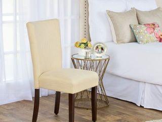 HomePop Glenbrier Daisy Textured Parson Dining Chair   Single  Retail 93 99