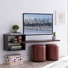 Penny Modern Wall Mount Media Shelf  Retail 138 99