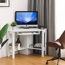 Wooden Corner Computer Desk with Drawer Office Study Table  Retail 183 99