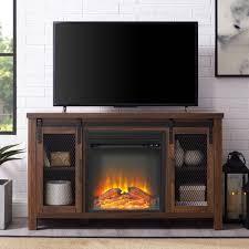 The Gray Barn Kujawa Fireplace TV Stand Console  Retail 418 99