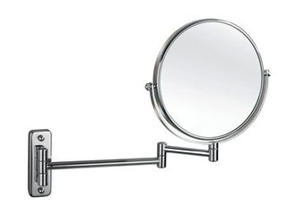 Empire 1X  5X Magnification Wall Mount 8  Makeup Mirror   Polished chrome  Retail 96 99