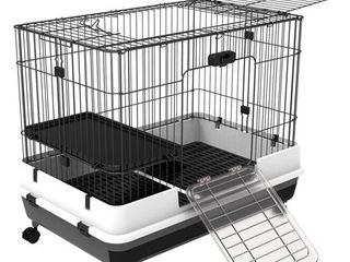 PawHut Metal Cage Indoor Small Animal Hutch  Retail 105 99
