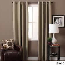 Ultimate Blackout Grommet Top Curtain Panel Pair  Retail 86 49