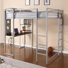 Taylor   Olive Tubmill Abode Full size Metal loft Bed  Retail 427 99 silver