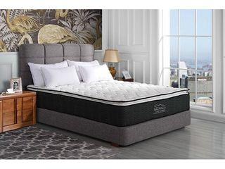 12  Hybrid Mattress only with High Density Foam Pillow Top  Retail 239 49 queen