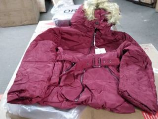 orolay winter coat marron women medium