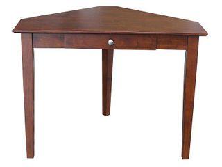 1 drawer Corner Computer Desk  Retail 249 99