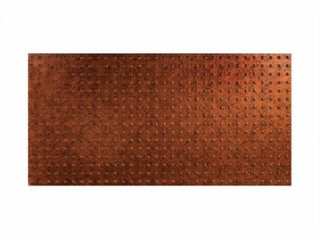Fasade Dome Moonstone Copper Wall Panel  4  x 8  Retail 223 49