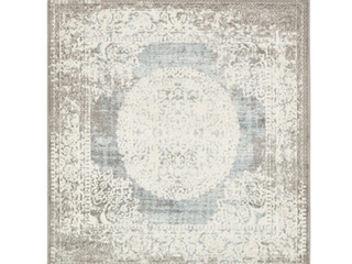 Unique loom New Vintage Collection  Blue Grey  4 Sq Ft