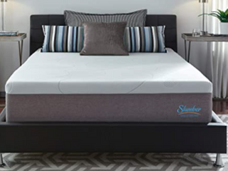 Slumber Solutions 14 inch Gel Memory Foam Choose Your Comfort Mattress   White  Retail 589 99