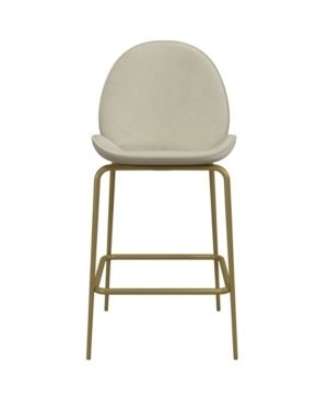 Cosmoliving by Cosmopolitan Astor Upholstered Counter Stool  Retail 136 49