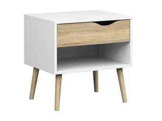 Carson Carrington Hjo 1 drawer Nightstand  Retail 84 99