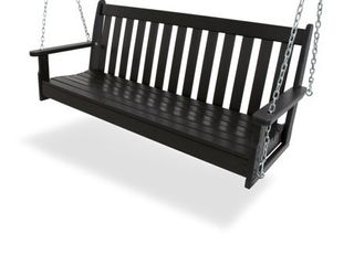 POlYWOOD Vineyard 60 inch Outdoor Swing  Retail 379 00