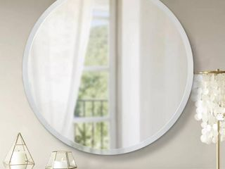 Modern Aluminum Alloy Thin Frame Wall Mounted Vanity Round Mirror  Retail 91 99