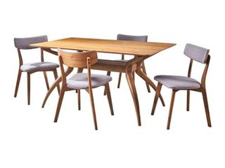 Nissie Mid Century 5 piece Dining Set by Christopher Knight Home  Retail 693 99