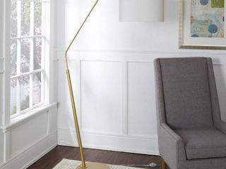 Denton Gold Finish Arched Floor lamp  Retail 157 99