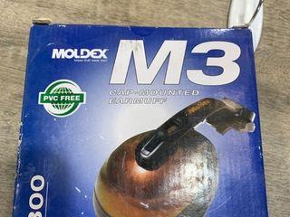 Moldex  Pair M3 cap mounted earmuff