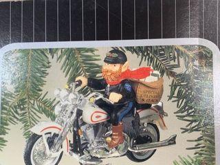 Harley Davidson aletters To Santaa Ornament