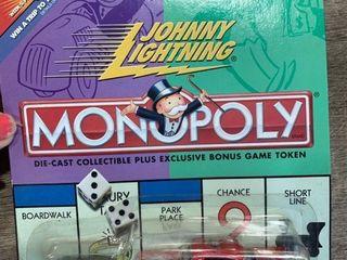 Johnny lightning  Monopoly chevy