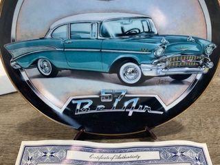 Franklin Mint 57 bel air plate