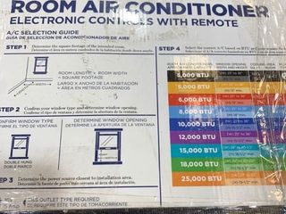 Arctic King 8000 BTU Wi Fi Smartphone Compatible Window Air Conditioner with Remote Control for Medium Size Rooms  WWK08CW01N B  Black