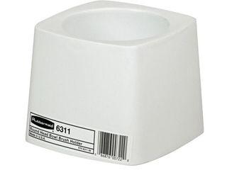 Rubbermaid Commercial  RCP631100  Toilet Bowl Brush Holder  White
