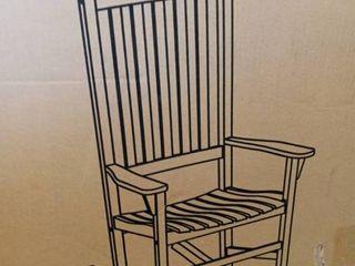 White Rocking Chair