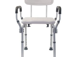 Essential Medical Supply Shower Bench with Arms and Back