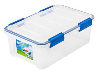 IRIS 16qt Ziploc Weather Shield Storage Box Clear