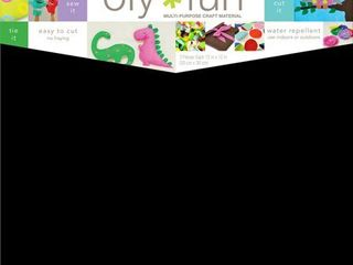 Oly Fun Multipurpose Craft Material  12  x 12  3pk