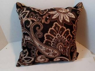 Better Homes and Gardens Paisley Pillow  Black
