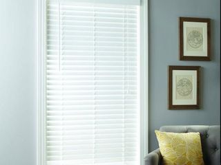 Better Homes   Gardens 2  Faux Wood Cordless Blinds  White