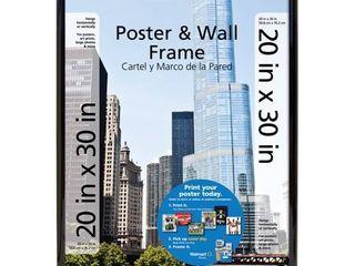Mainstays 20 x30  Trendsetter Poster   Picture Frame  Black