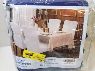 Chair Slip Covers Qty 4