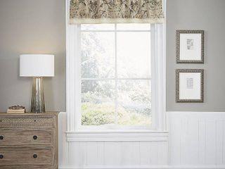 18 x60  Volterra Window Valance   Waverly